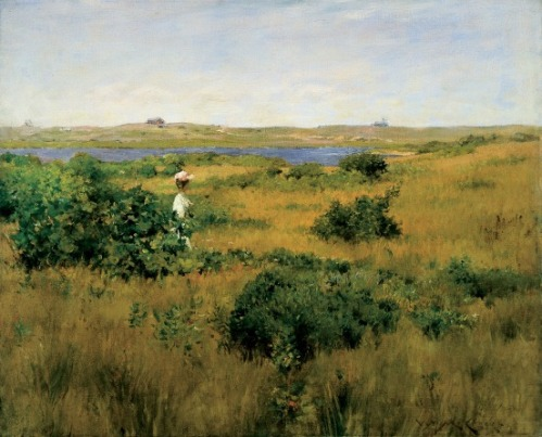 """Summer at Shinnecock Hills"" by William Merritt Chase, 1891"