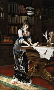 362px-Th_Richter_Dame_in_der_Bibliothek