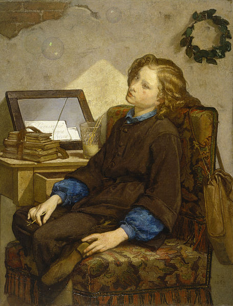 """Daydreams"" by Thomas Couture, 1859"