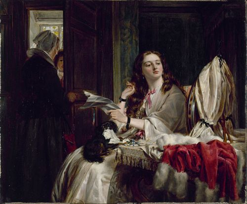 """The Morning of St Valentine"" by John Callcott Horsley, 1865"