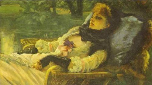 """The Dreamer (Summer Evening)"" by James Tissot, 1871"