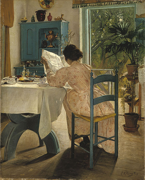 Laurits Andersen Ring, 1898