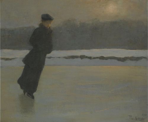 """The Skater"" by Prince Pierre Troubetskoy, 1895"