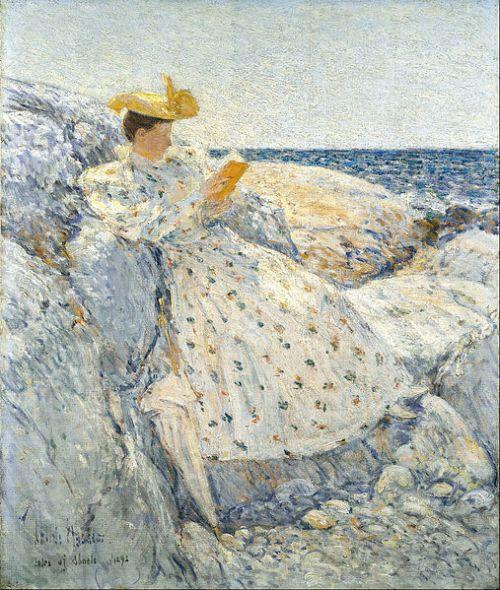 """Summer Sunlight"" by Childe Hassam, 1892"