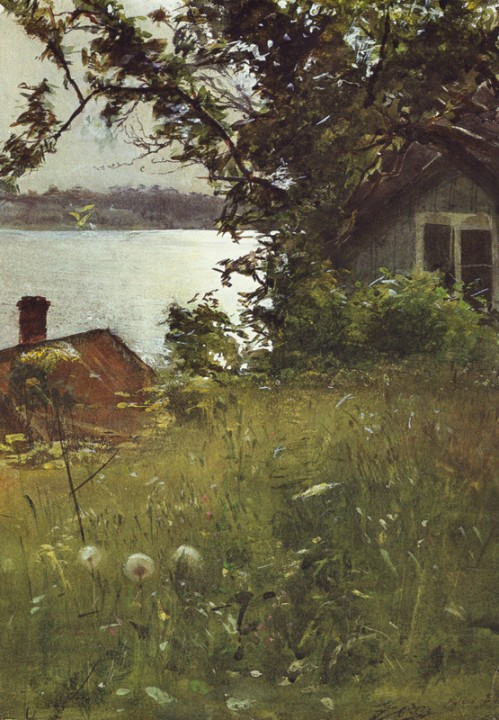 """Evening in June"" by Anders Zorn, 1886"