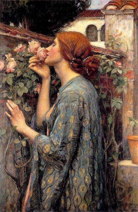 """The Soul of the Rose"" by John William Waterhouse, 1907"