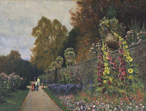 """Mirabellgarten"" by Hans Wilt, 1916"