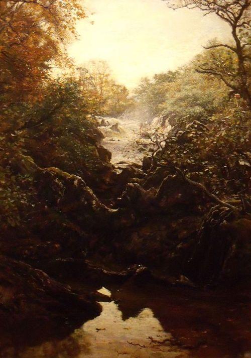 """""""Summer of Saint Martin"""" by John Everett Millais, 1877"""