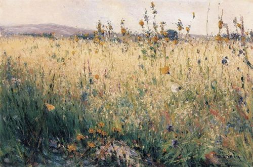 """Oat Field"" by Karl Nordstrom, 1887"