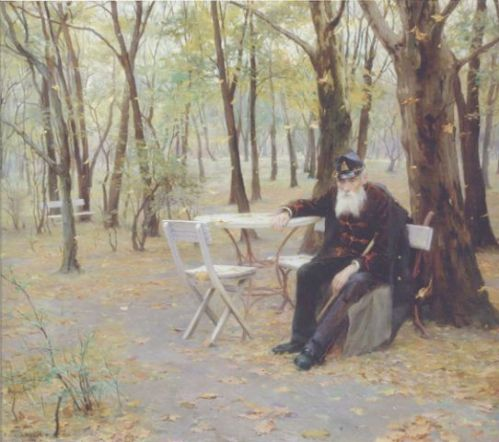 """Falling Leaves"" by Philip de Laszlo, 1895"