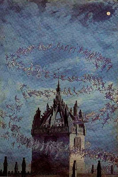 """Saint Giles, His Bells"" by Charles Altamont Doyle (1832-1893)"