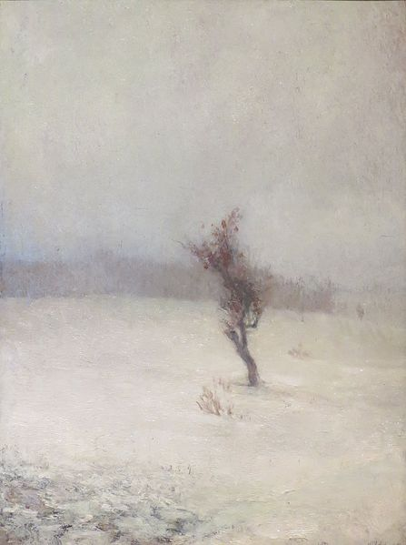 """Snow Storm"" by John La Farge, 1865"
