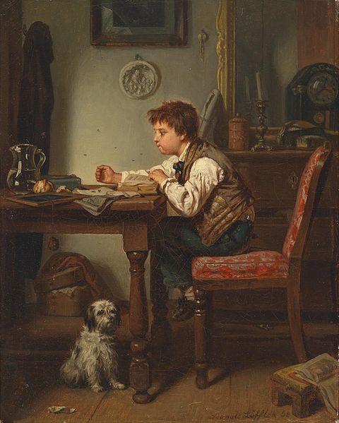 Leopold Löffler, 1858