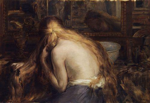 """""""Hymne à la Femme"""" by Auguste Levêque, 1909"""