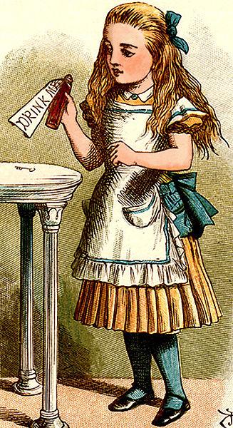 """Alice in Wonderland"" by John Tenniel, 1865"