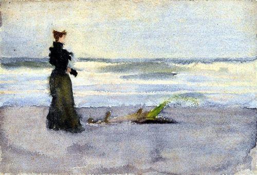 Thomas Pollock Anshutz, circa 1900