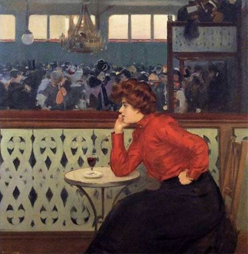 """Moulin de la Galette"" by Ramon Casas i Carbó (1866-1932)"