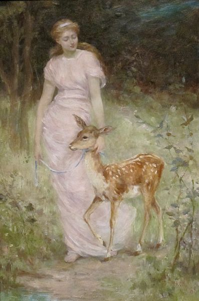 """A Willing Captive"" by Frederick Stuart Church, 1888"